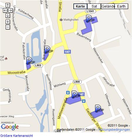 440 Gratis Parkplätze in Mattighofen